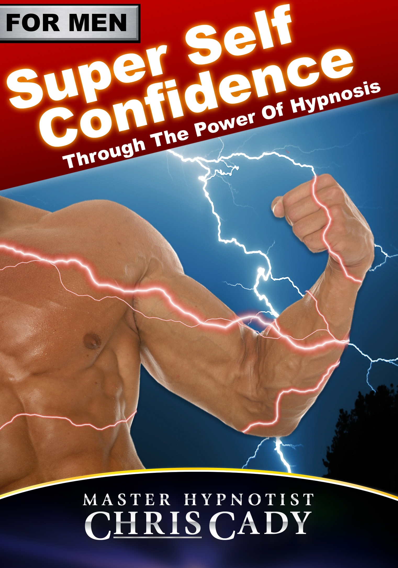 self confidence for men with hypnosis cd  and mp3 download by hypnotist chris cady