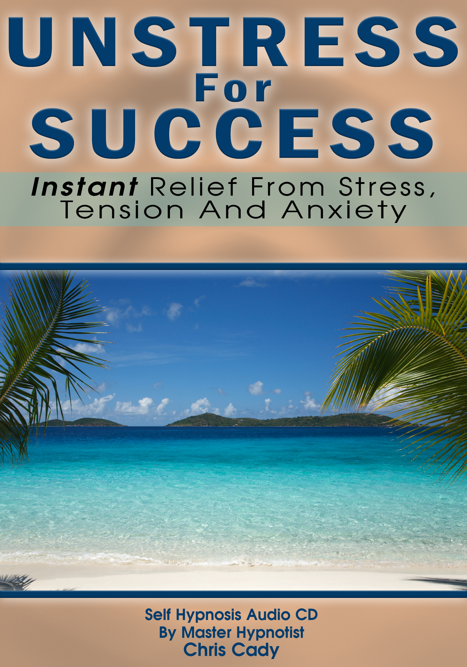 reduce stress for success stress relief stress reduction with hypnosis cd by master hypnotist chris cady