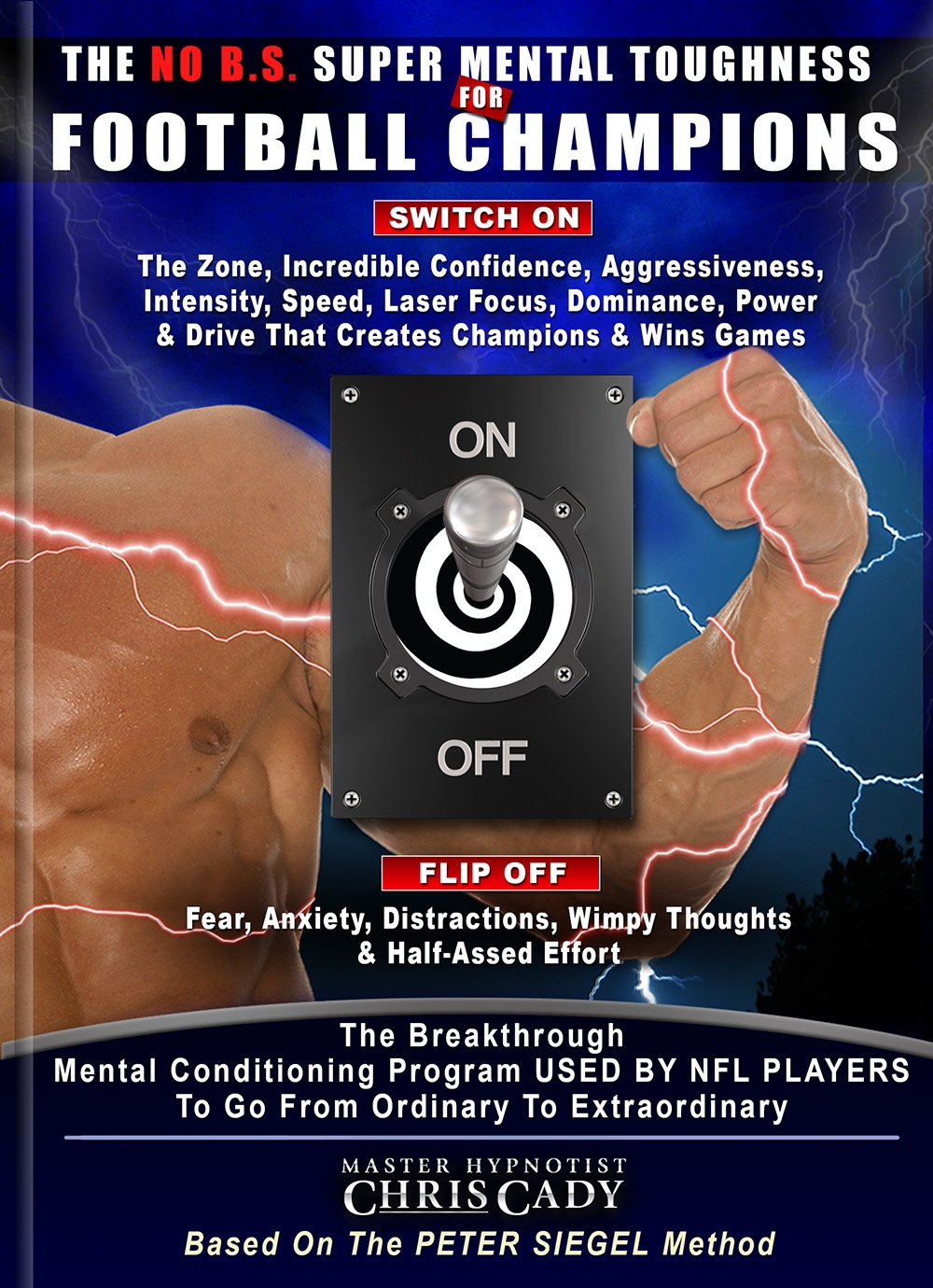 no bs mental toughness for football players with hypnosis cd mp3 program