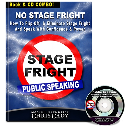 hypnosis hypnotherapy  for stage fright public speaking